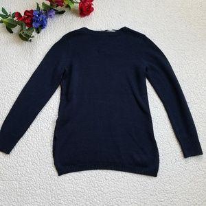 Joe Fresh Sweaters - Joe Fresh Sweater Navy V Neck Women's Small NWT